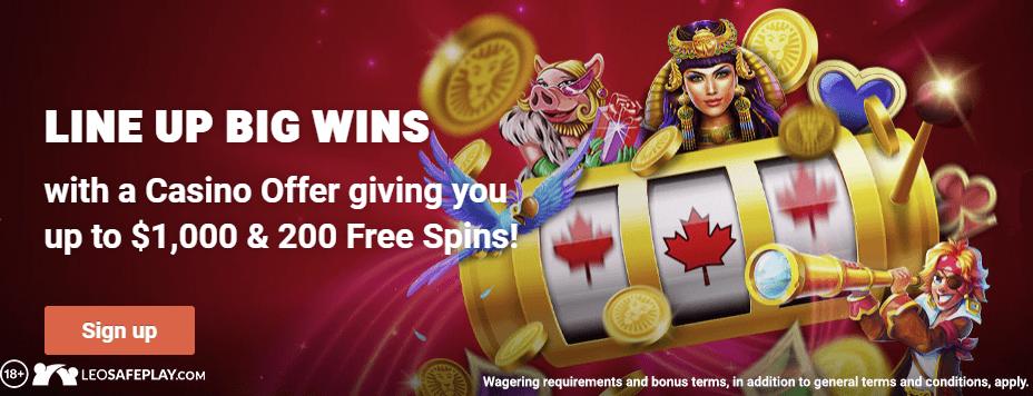 Best online casino in canada: Leovegas Canada